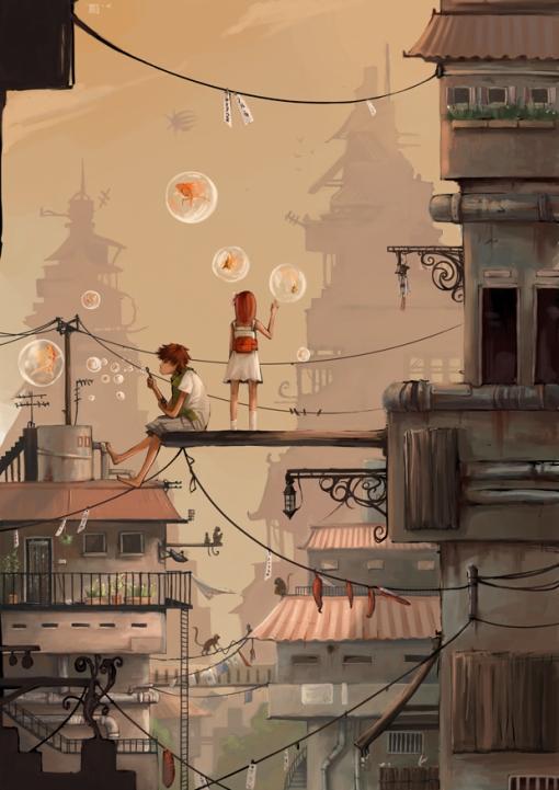 City_Escape_by_Rozefire